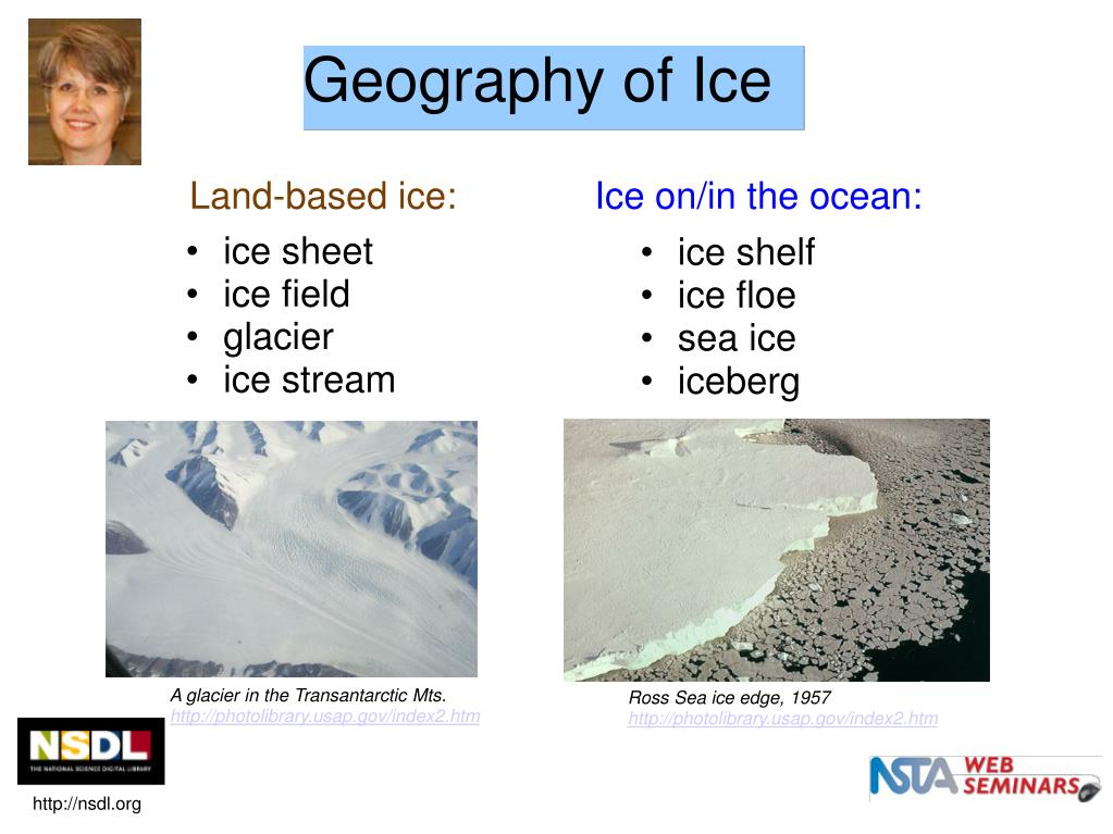 Geography of Ice