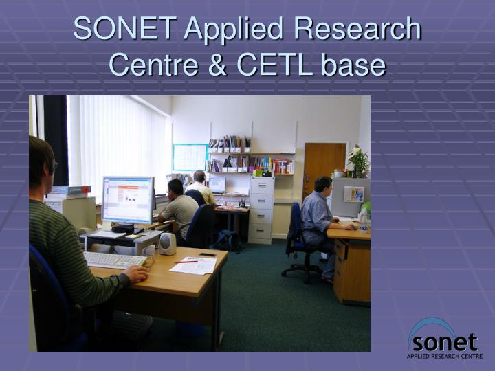 a research on sonet Sonet is the american national standards institute standard for synchronous data transmission on optical media the international equivalent of sonet is.