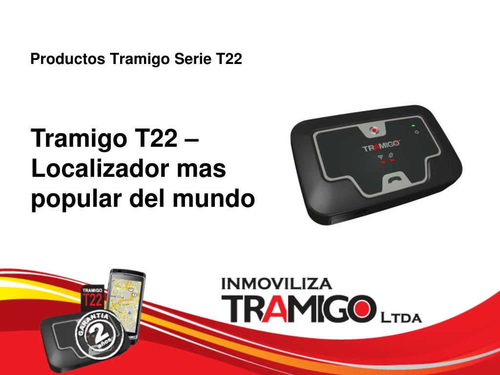 productos tramigo serie t22 l.