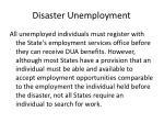 disaster unemployment37
