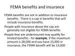 fema benefits and insurance