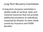 long term recovery committees