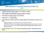 international travel tourism to the u s 2009