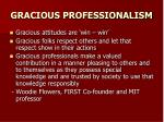 gracious professionalism