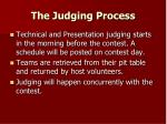 the judging process
