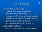 public process