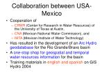 collaboration between usa mexico