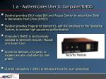 1 a authenticates user to computer rhdd