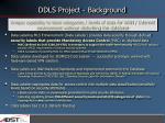 ddls project background