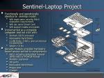 sentinel laptop project