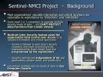 sentinel nmci project background