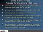 sentinel nmci project potential contributions to nmci cont