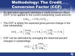 methodology the credit conversion factor ccf