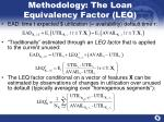 methodology the loan equivalency factor leq