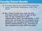 faculty travel grants55