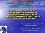 agricultural academy research institute for land reclamation and agricultural mechanization