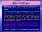 nature challenges