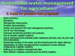 sustainable water management for agriculture25