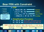 bear frn with constraint28