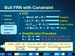 bull frn with constraint20