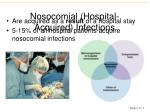 nosocomial hospital acquired infections