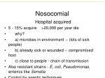 nosocomial