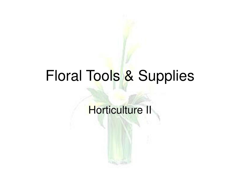 floral tools supplies l.