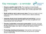 key messages a reminder46
