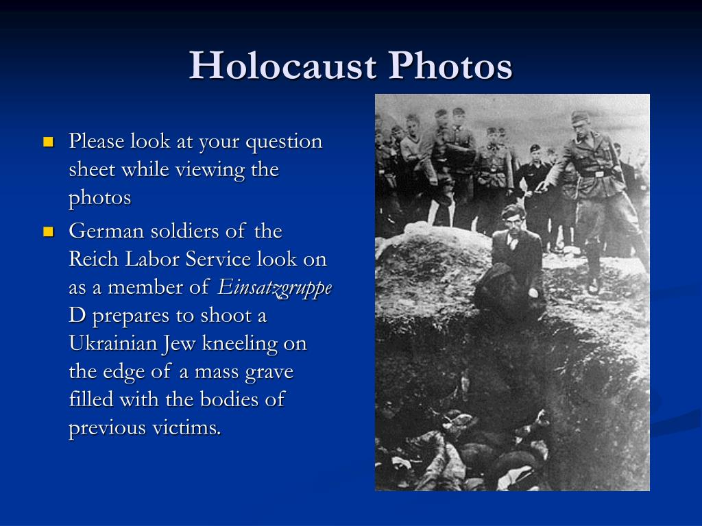 Holocaust Photos