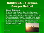 nashoba florence sawyer school