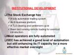 institutional development24