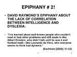 epiphany 2
