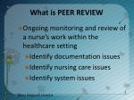 what is peer review