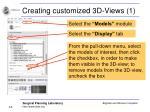 creating customized 3d views 1