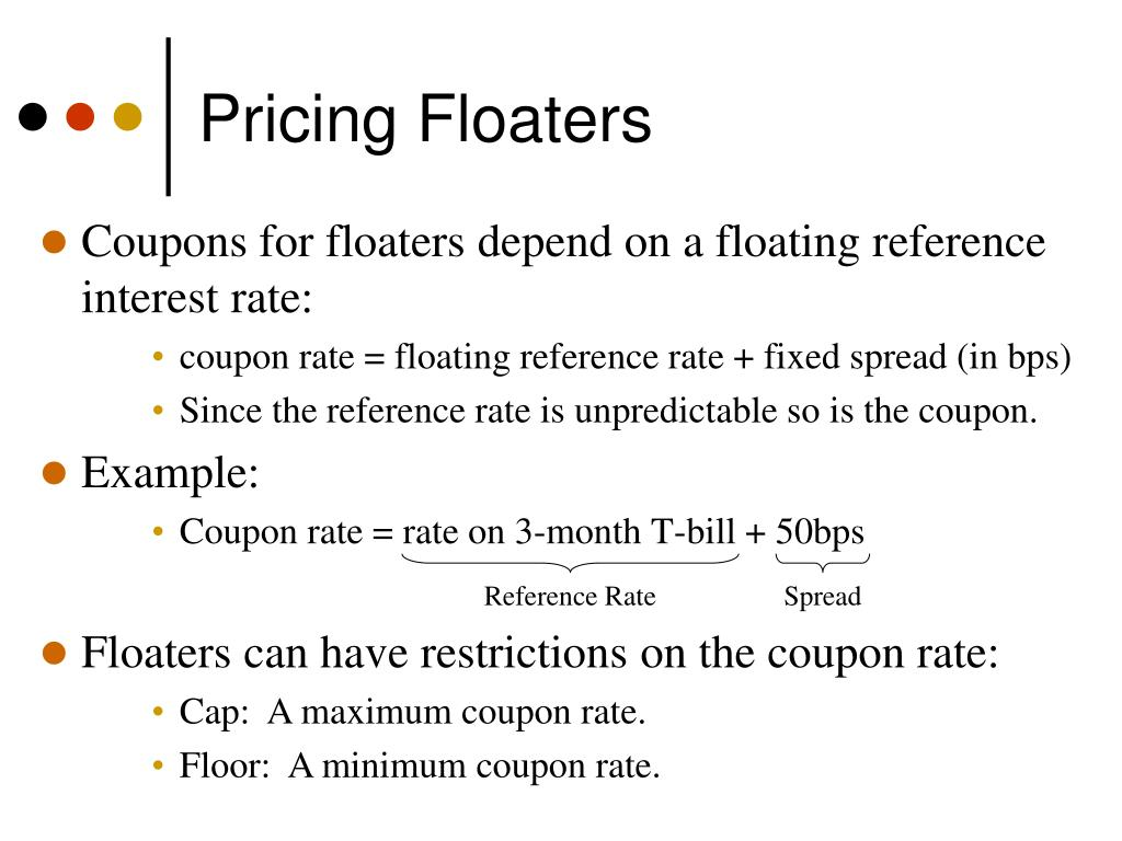 Pricing Floaters