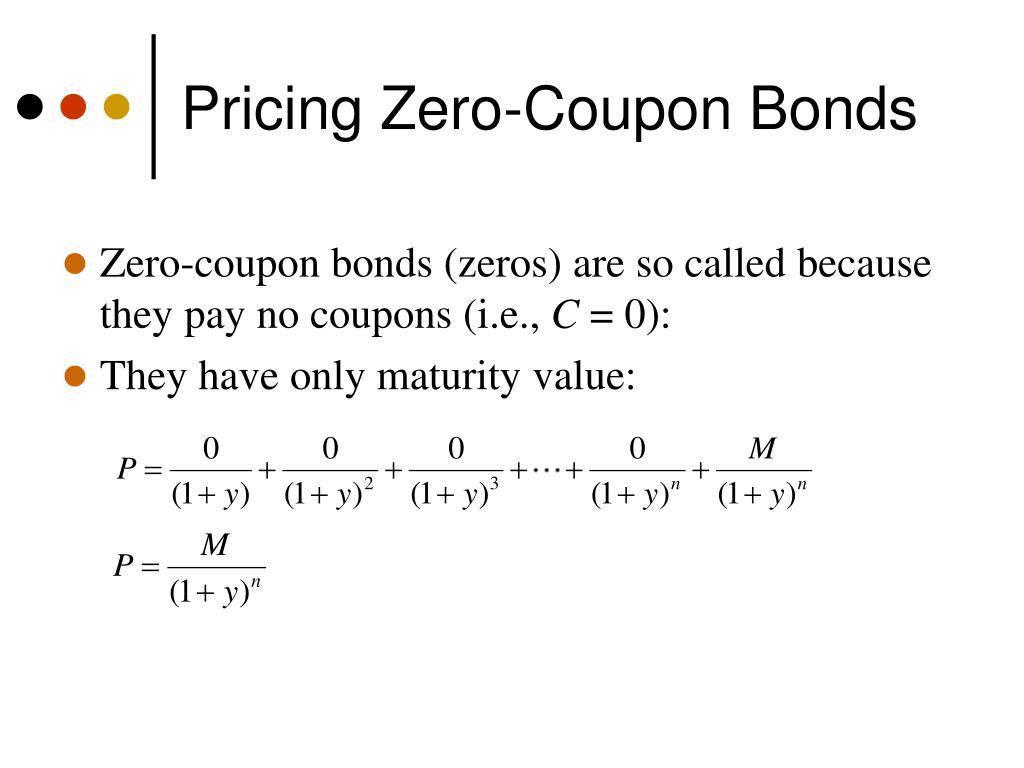 Pricing Zero-Coupon Bonds