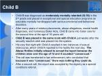child b