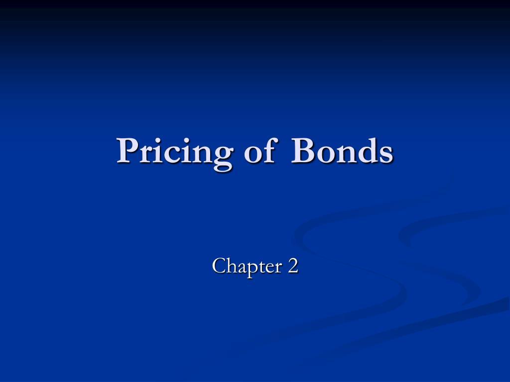 pricing of bonds l.