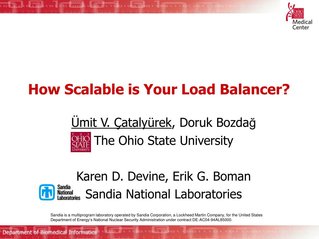 how scalable is your load balancer l.
