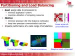 partitioning and load balancing