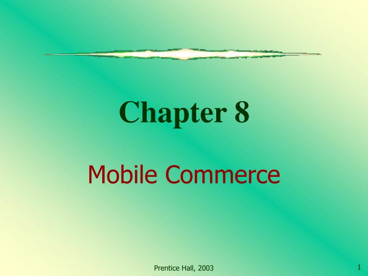 chapter 8 mobile commerce n.