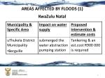 areas affected by floods 1