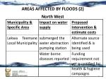 areas affected by floods 2