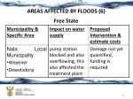 areas affected by floods 6