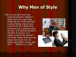 why men of style