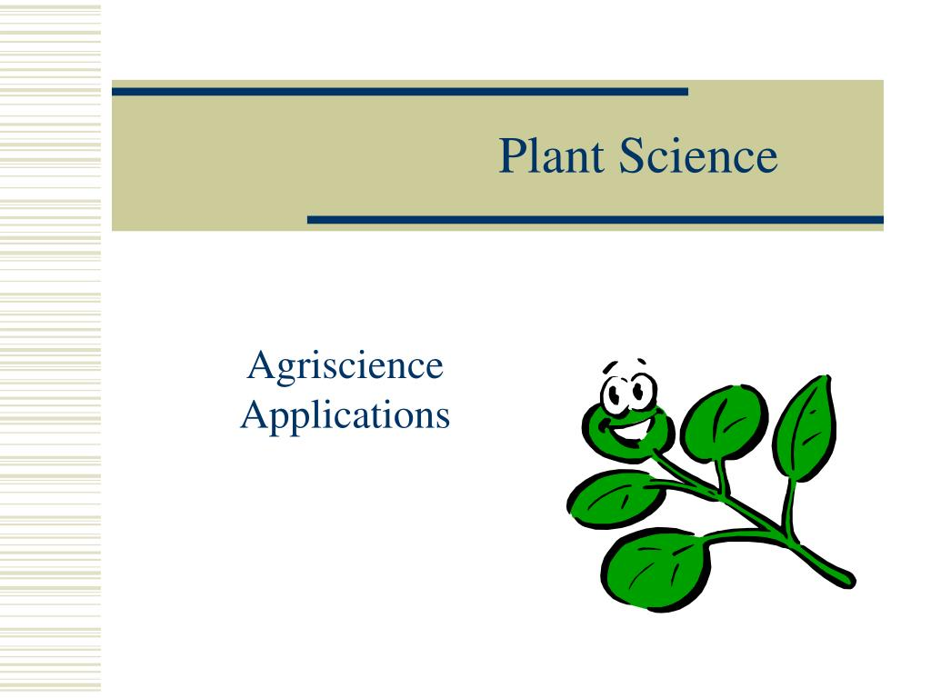 plant science l.