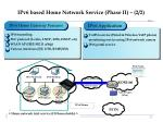ipv6 based home network service phase ii 2 2