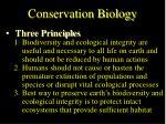 conservation biology36