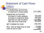 statement of cash flows 20028