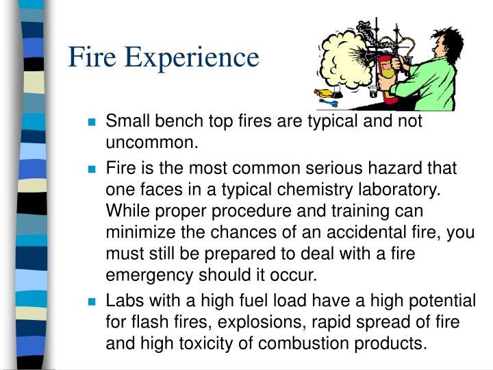 fire experience n.